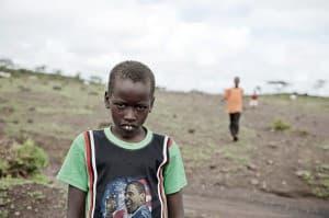 Amboseli Child, Kilamanjaro, Kenya, Africa 0025