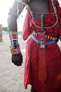 Maasai Warrior Belt, Amboseli, Kenya0006