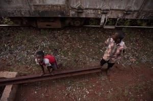 Tsavo Beggars, Kenya, Africa 0020