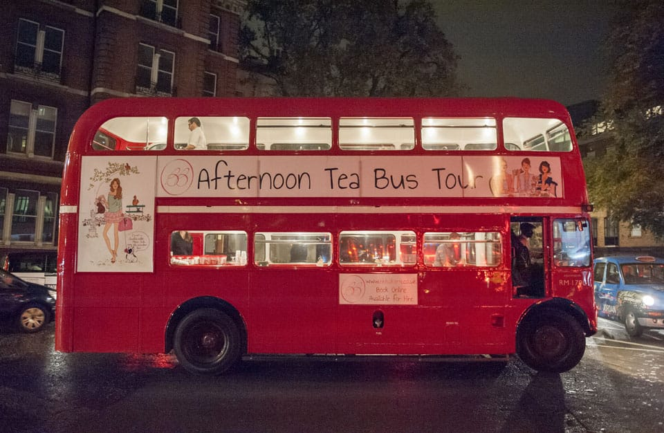 Vida Hotels – Afternoon Tea Bus Tour, London