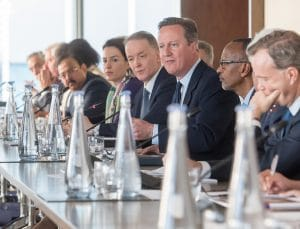 David Cameron Round Table Corporate Conference