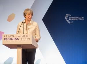 Therasa May - Prime Minister - Commonwealth Business Forums